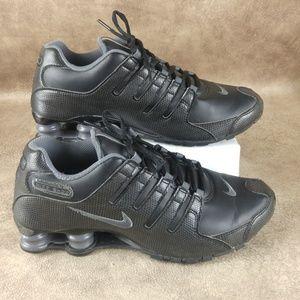 Nike Shox NZ Black Snakeskin Grey Rare 488312-020